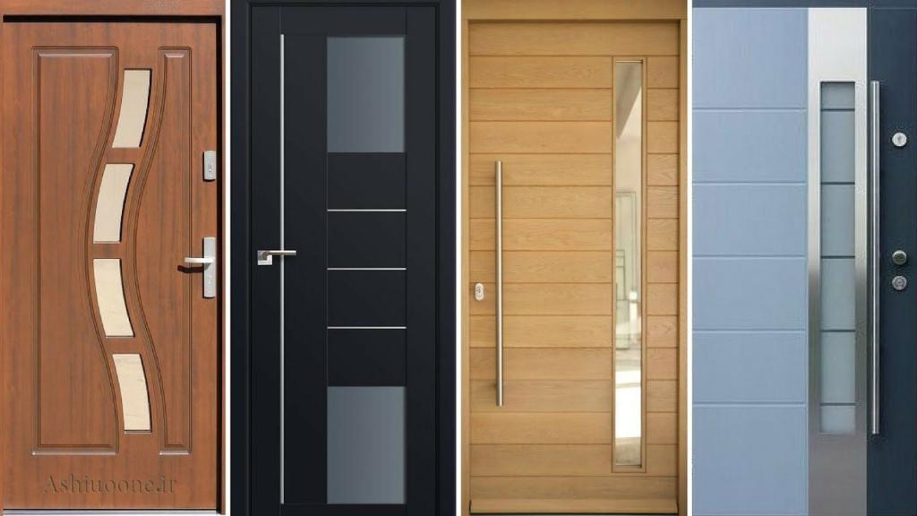 درب چوبی
