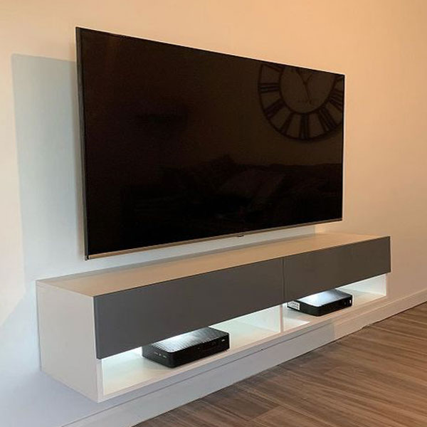 میز تلویزیون دیواری