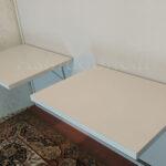 تخت تاشو دیواری همراه میز تحریر